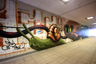 Graffiti Hallerwiese