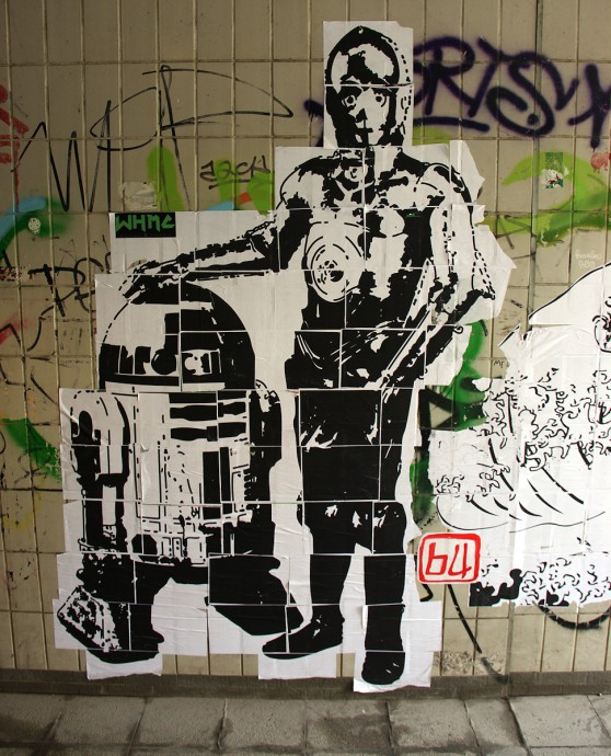 Paste-Ups in Nürnberg